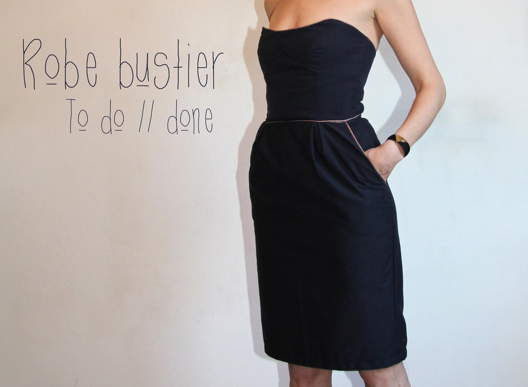 Patron robe de soiree corset