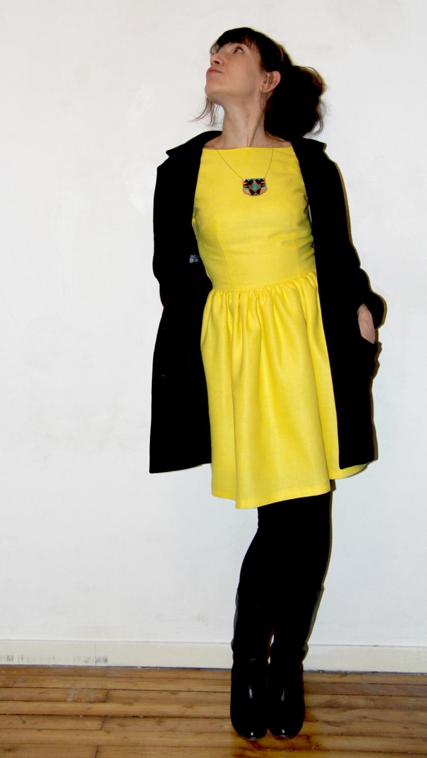 robe soleil manteau