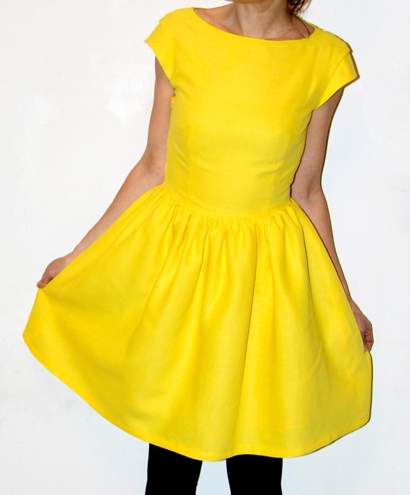 robe soleil simple