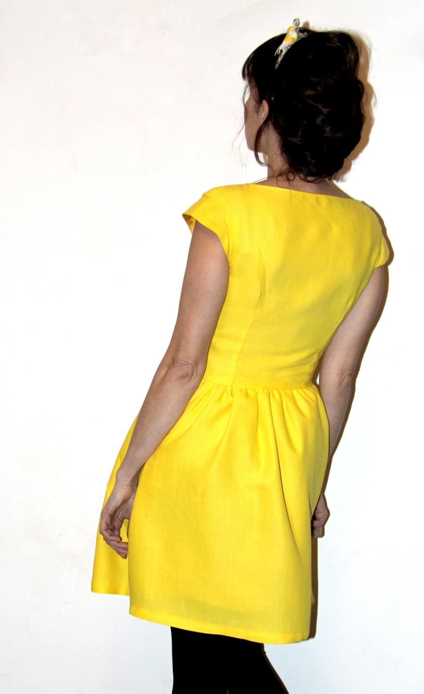 robe soleil dos
