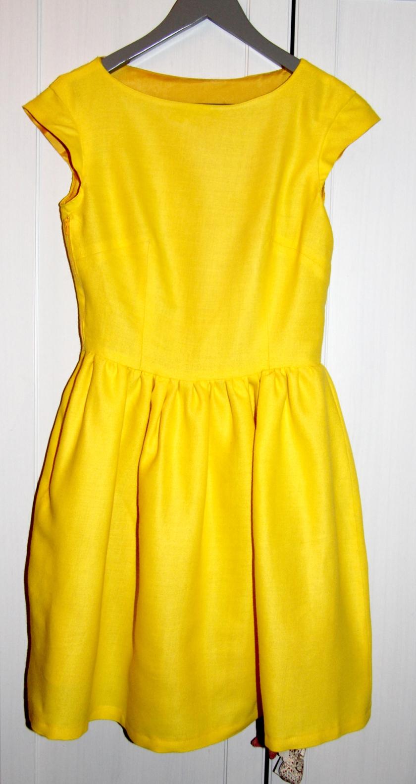 robe soleil cintre