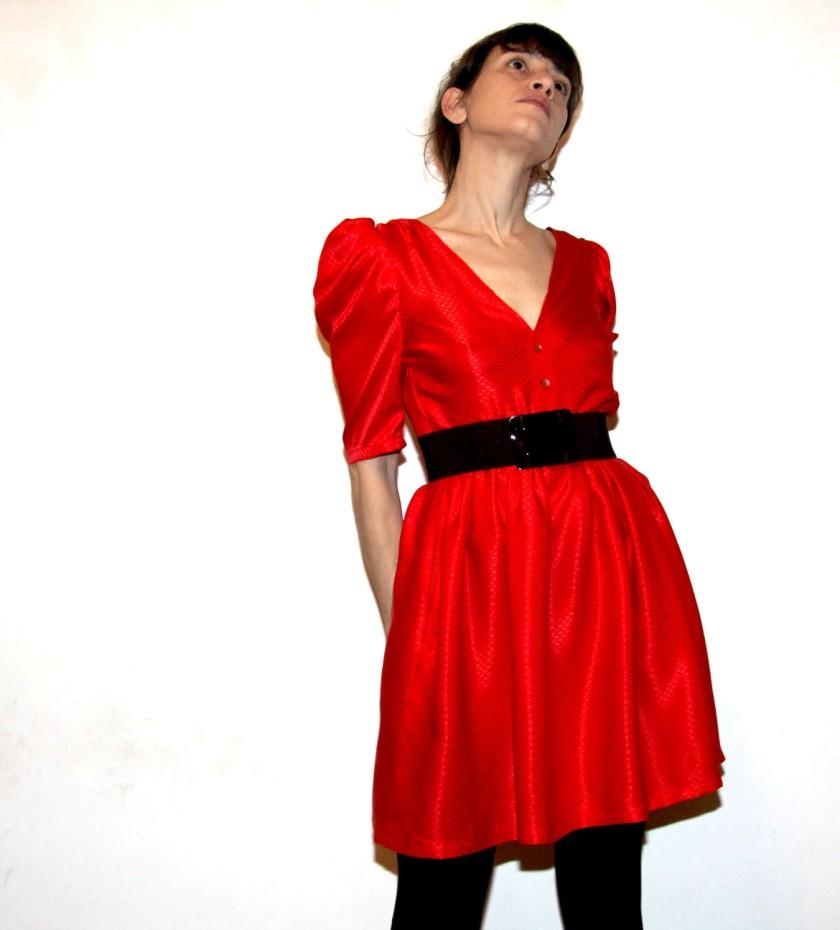 robe rouge 5