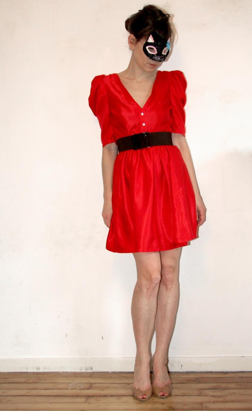 robe rouge 3