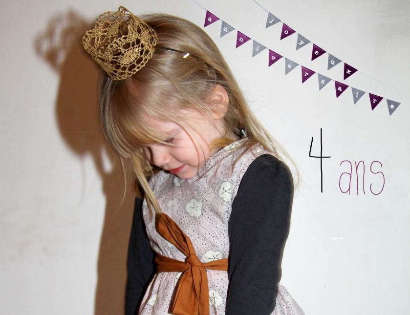 Lola 4 ans tunique