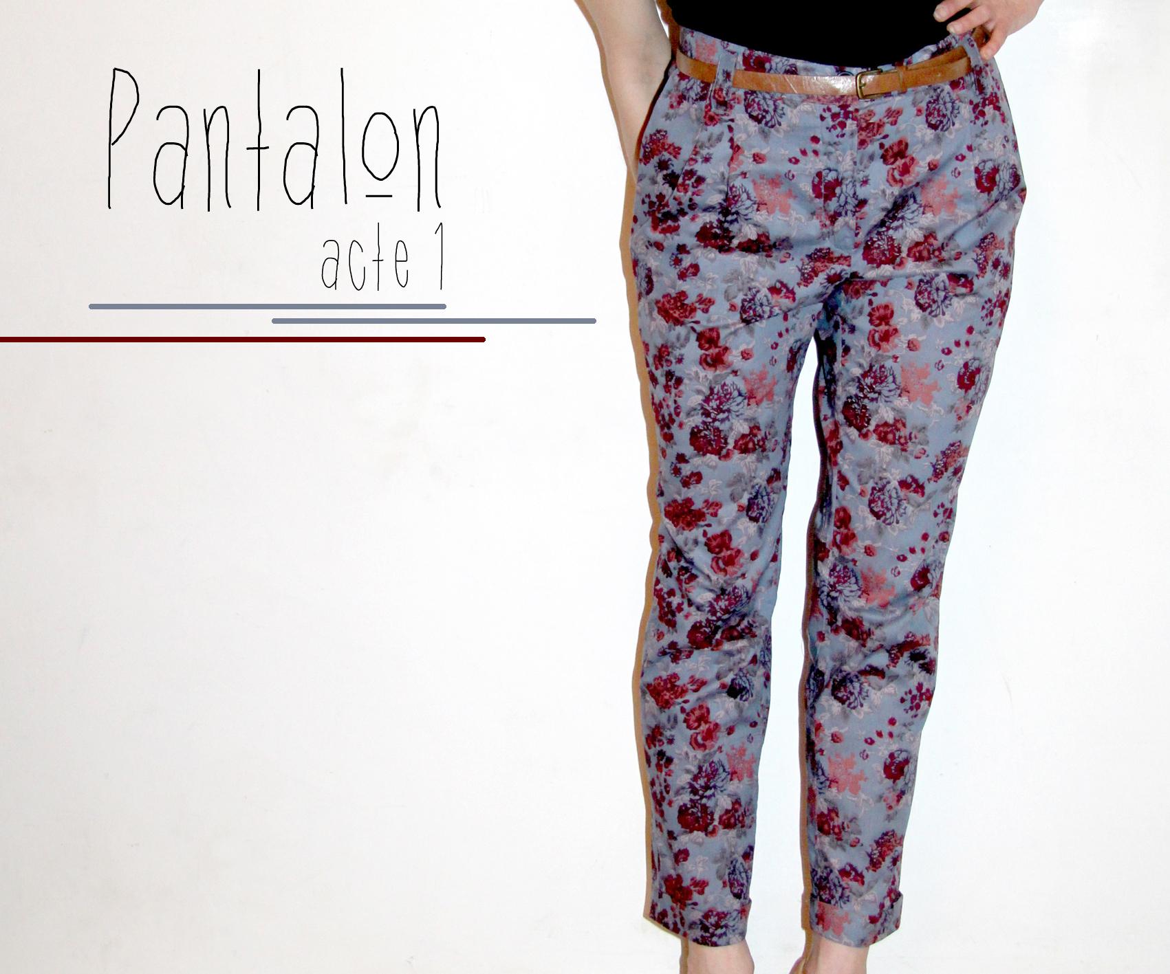 Pantalon acte 1 - Faire un ourlet de pantalon ...