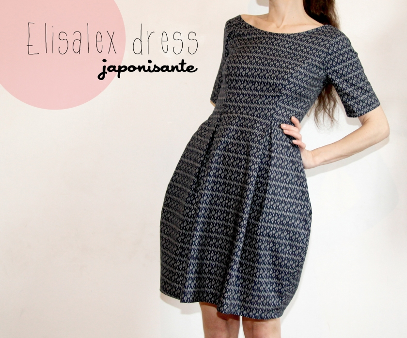 Elisalex dress by hand / Jolies bobines une