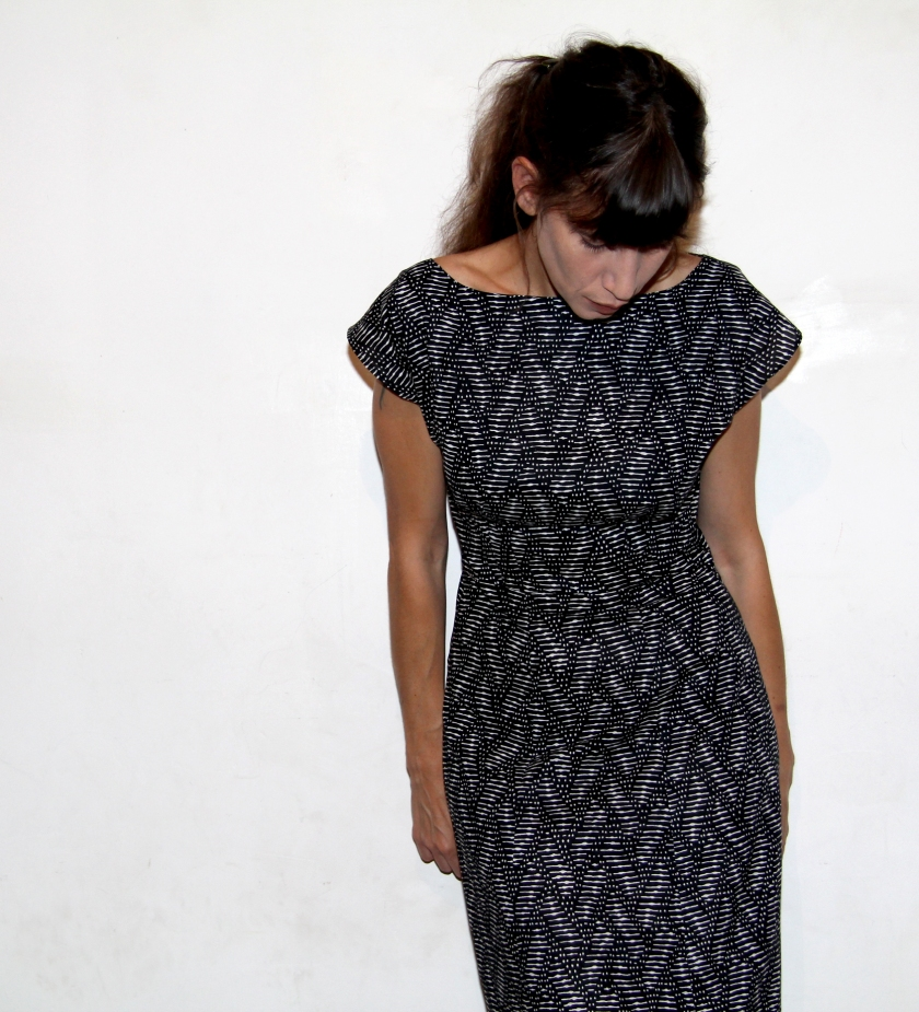 anna dress graphic / Jolies bobines