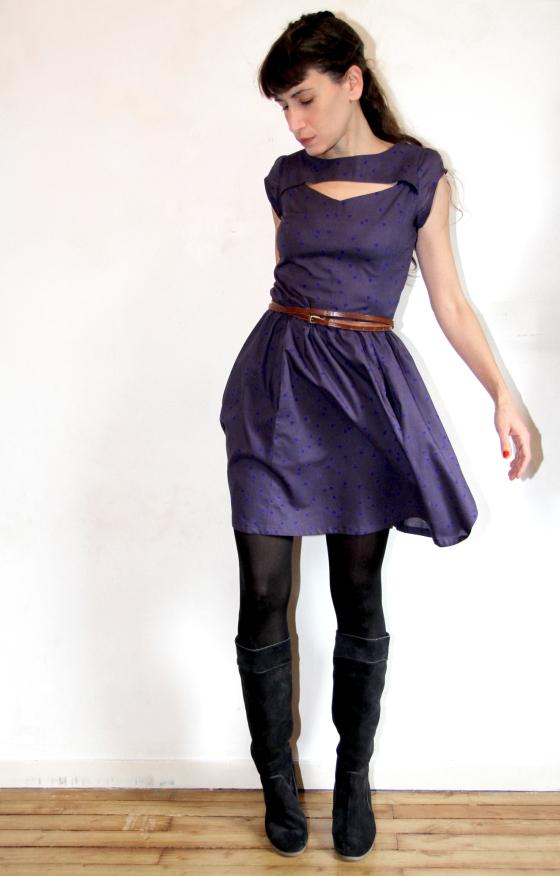 cosmic blue / atelier brunette