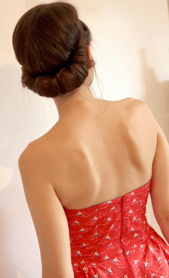 bustier peplum atelier brunette