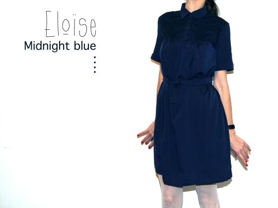Eloise midnight blue / Jolies bobines