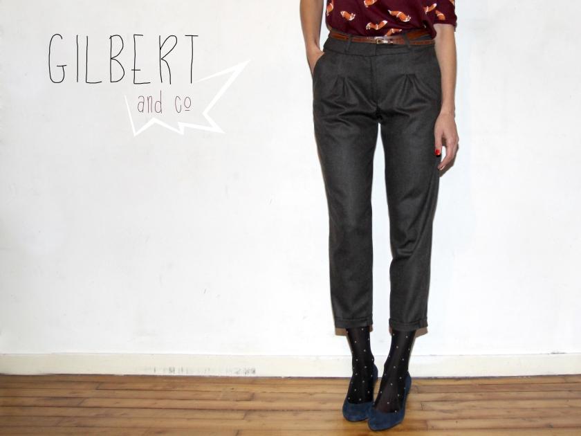Pantalon Gilbert // Jolies bobines
