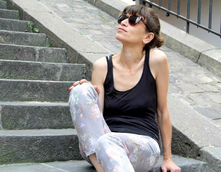 Jeans fleurs // Jolies bobines
