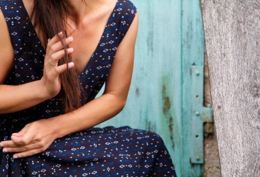 Sway dress / Alexandra Yonnet / jolies bobines