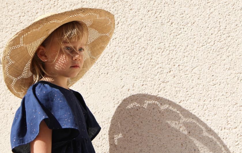 robe bleue étoiles / jolies bobines